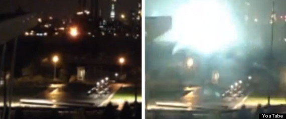 CONED EXPLOSION HURRICANE SANDY