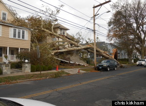 hurricane sandy connecticut