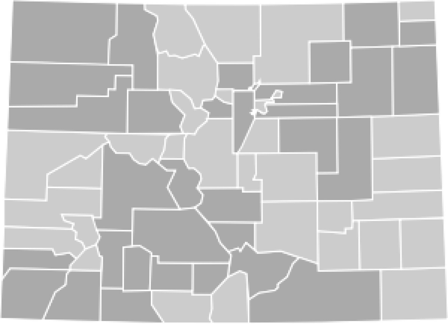Colorado Election Results 2012 MAP Presidential And House
