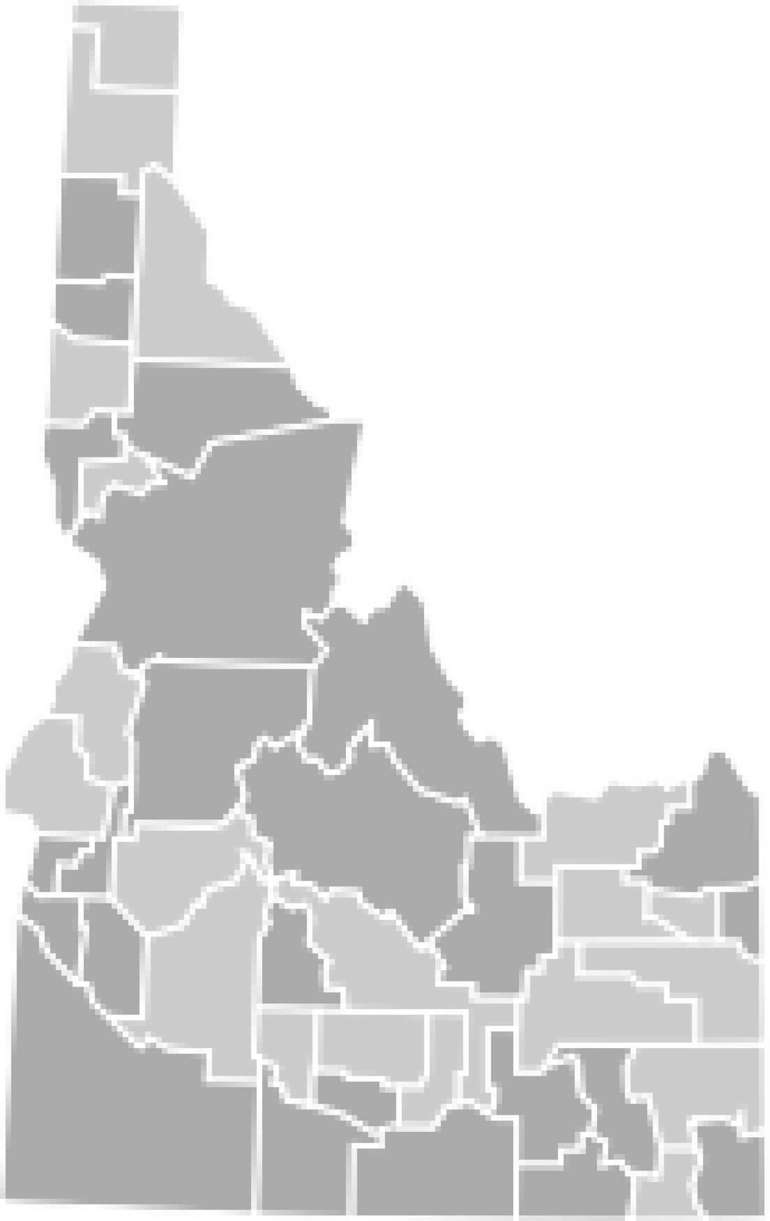 Idaho Election Results 2012 MAP Presidential Senate And