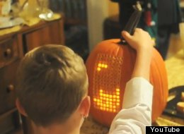 WATCH: Man Turns Pumpkin Into Tetris Game