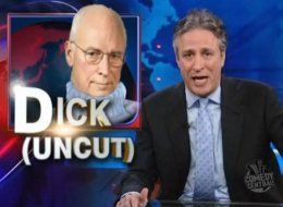 Dick cheney daily show Capella