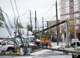 Power Back For Most In Toronto