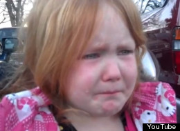 Election Makes Girl Cry