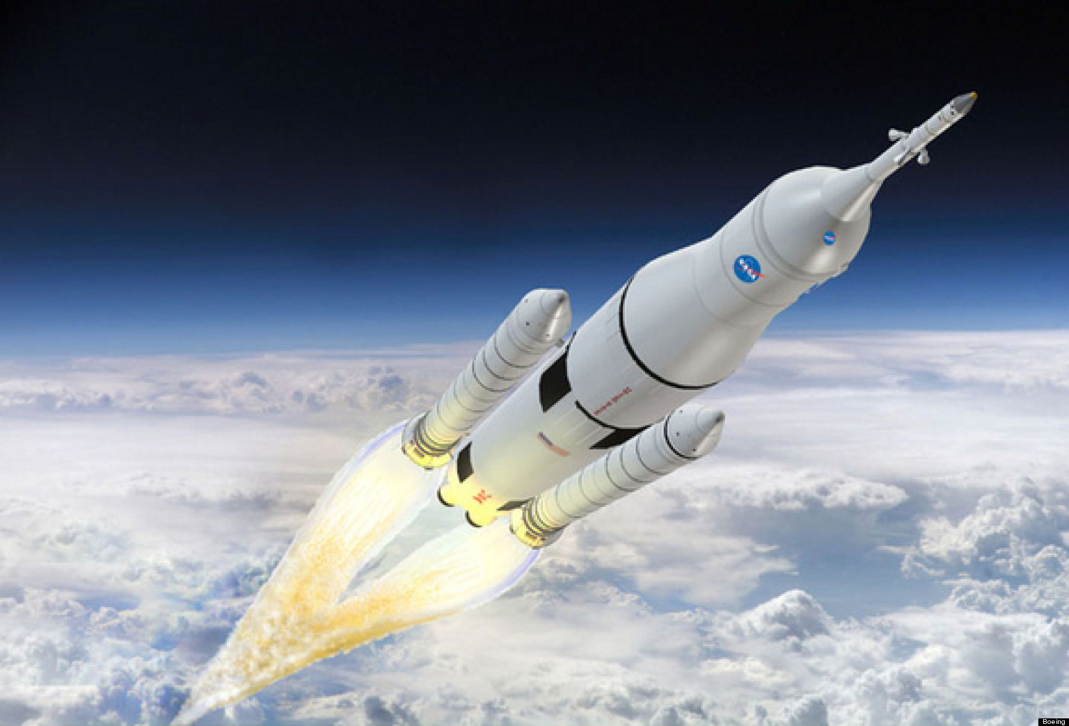 Space Launch System: NASA's New SLS Rocket May Permit Deep ...