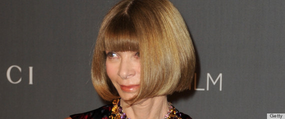 Anna Wintour Passport Photo