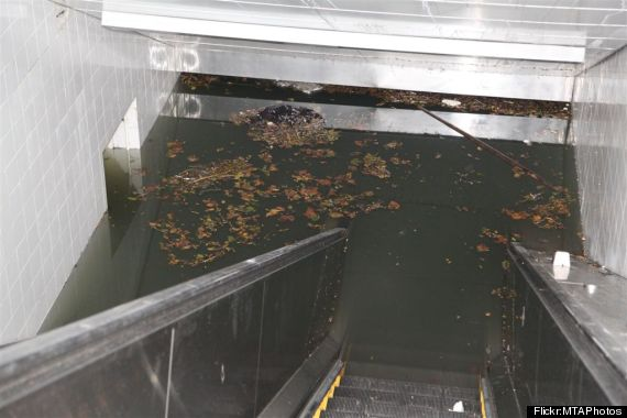 south ferry subway station flooding sandy