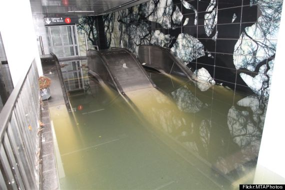 south ferry subway flooding sandy