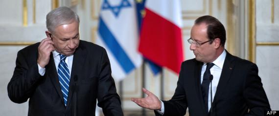 Hollande Benjamin Netanyahu