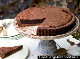 Recipe Of The Day: Chocolate-Bourbon Tart