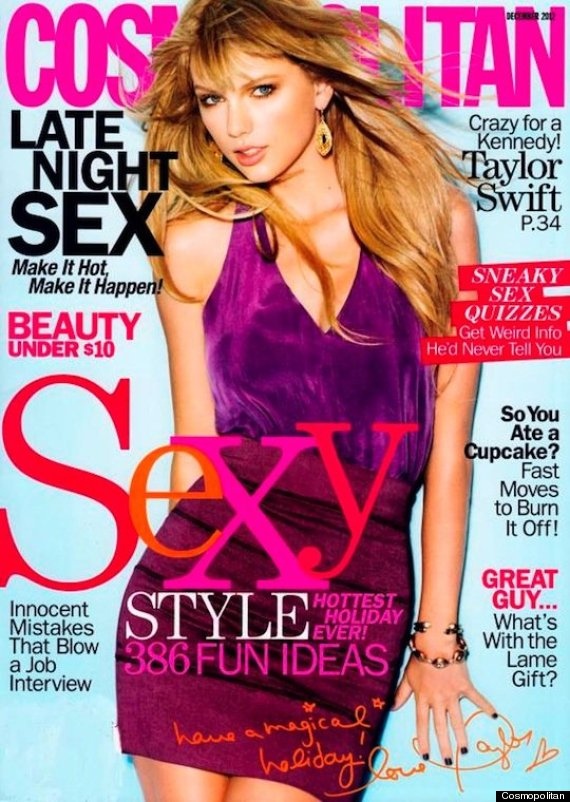 taylor swift cosmo cover