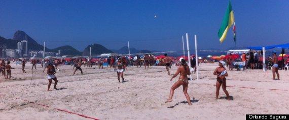 Rio Carnival Samba Dancers Nude