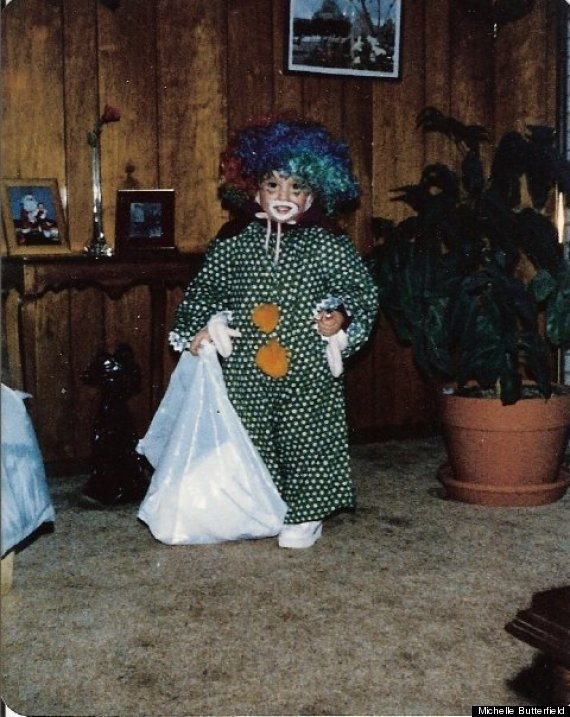 young michelle halloween