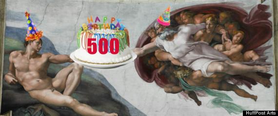 SISTINE CHAPEL 500 ANNIVERSARY