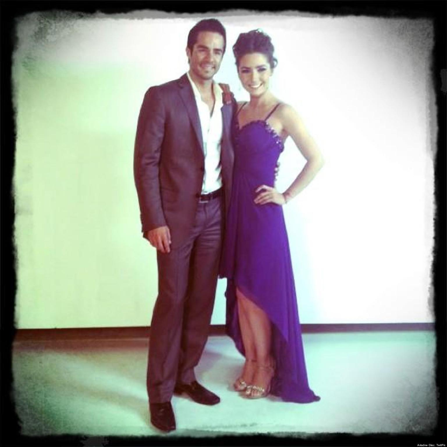 Ariadne Díaz y José Ron, rumores de romance en el set de ...