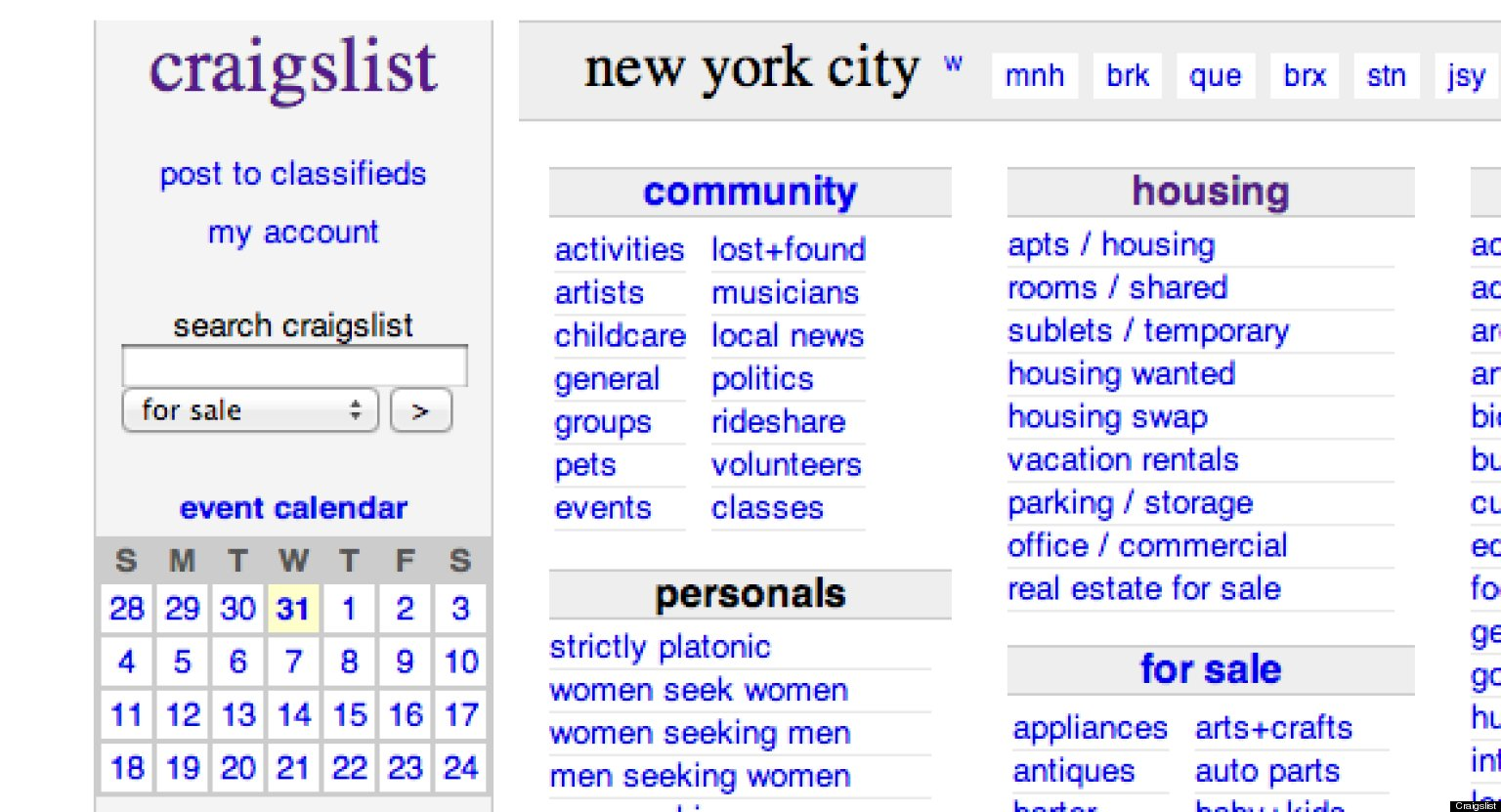 Craigslist dating new york