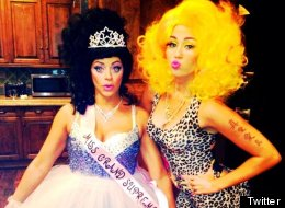 Miley Cyrus Nicki Minaj Halloween Costume