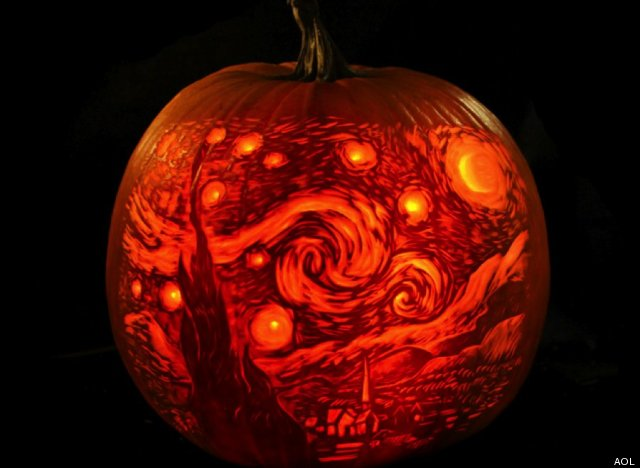 The best halloween pumpkin carving we 39 ve ever seen photos for Awesome pumpkin drawings
