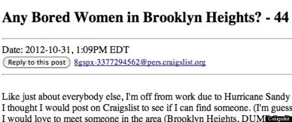 meet people for sex craig list