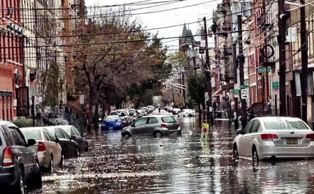 Hoboken Sandy Flooding Hoboken Flood Sandy