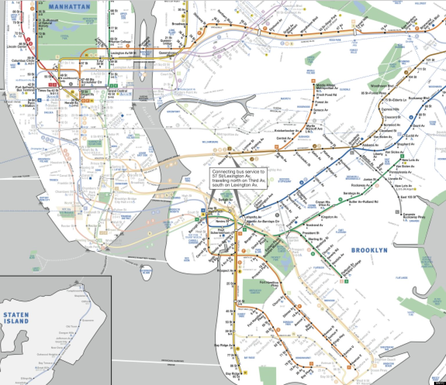 New York Subway MAP PostSandy Limited Service Plans Revealed - New york subway map new