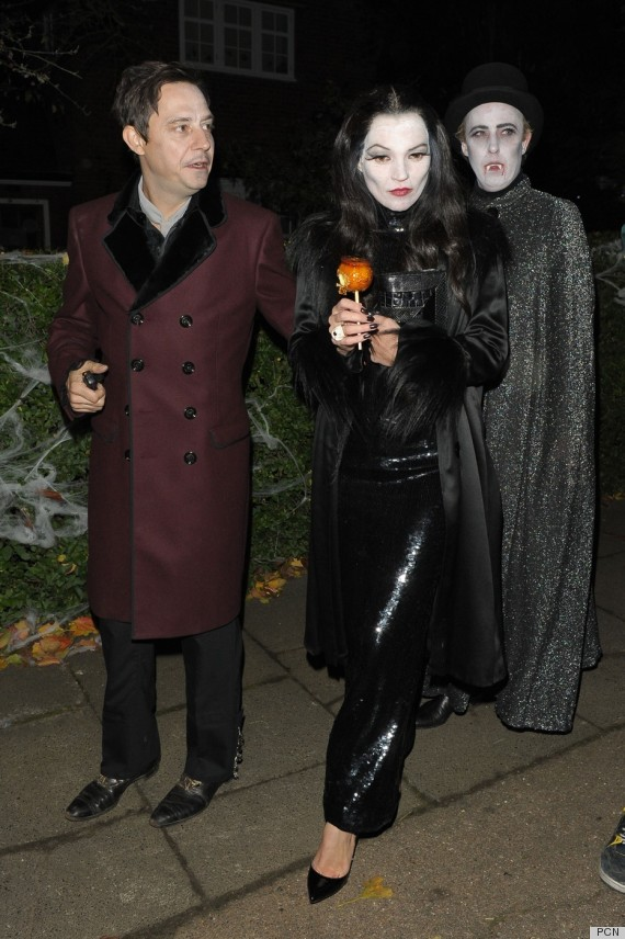 kate moss jamie hince morticia gomez addams