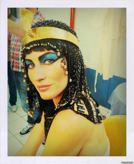 gisele heidi klum cleopatra halloween
