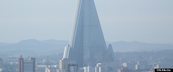 RYUGYONG HOTEL OPENING 2013