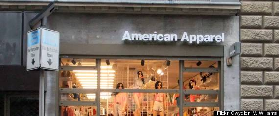 American Apparel Hurricane Sandy