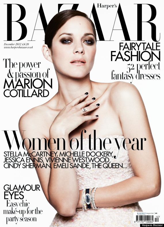 Marion Cotillard Tells Harpers Bazaar About 'Rust And Bone ...