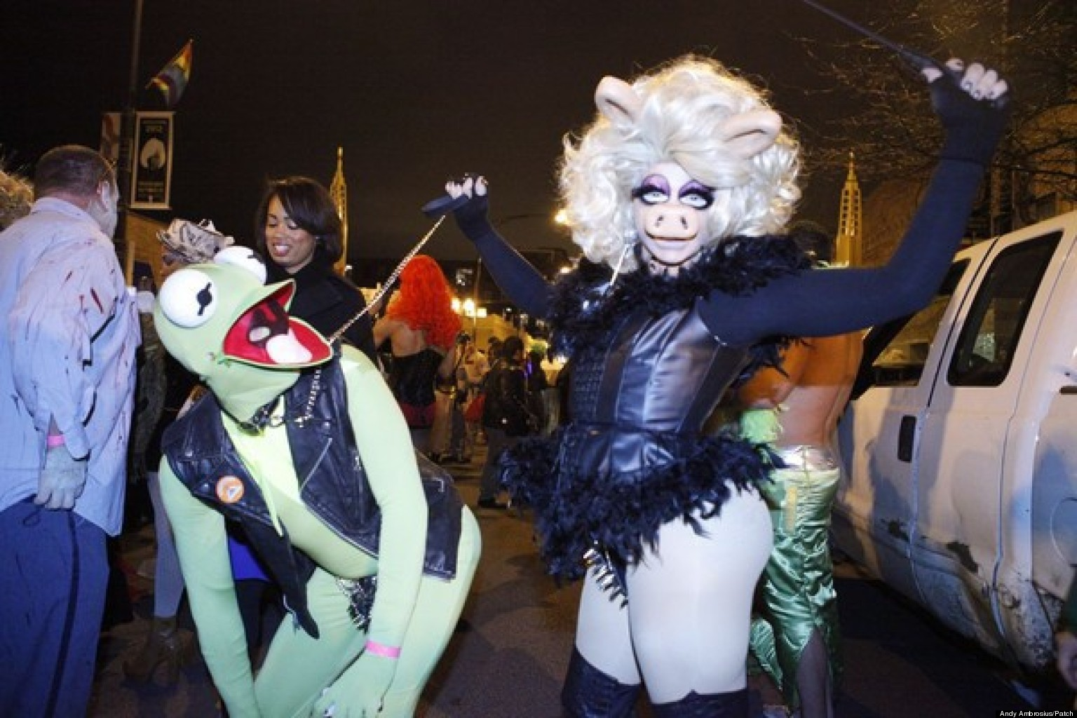 Boystown Halloween Parade Packs North Halsted With Zombies, Drag ...