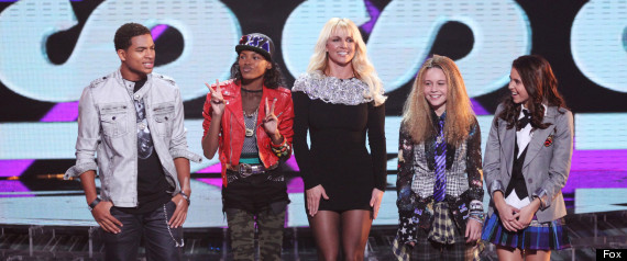 THE X FACTOR BRITNEY SPEARS LIVE