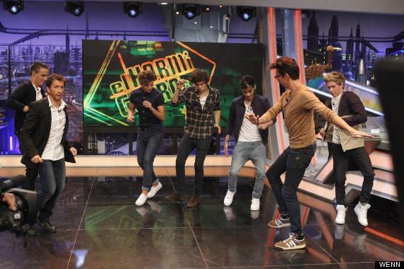 One Direction Get Pranked On Spanish TV Show 'El Hormiguero' (PICS ...