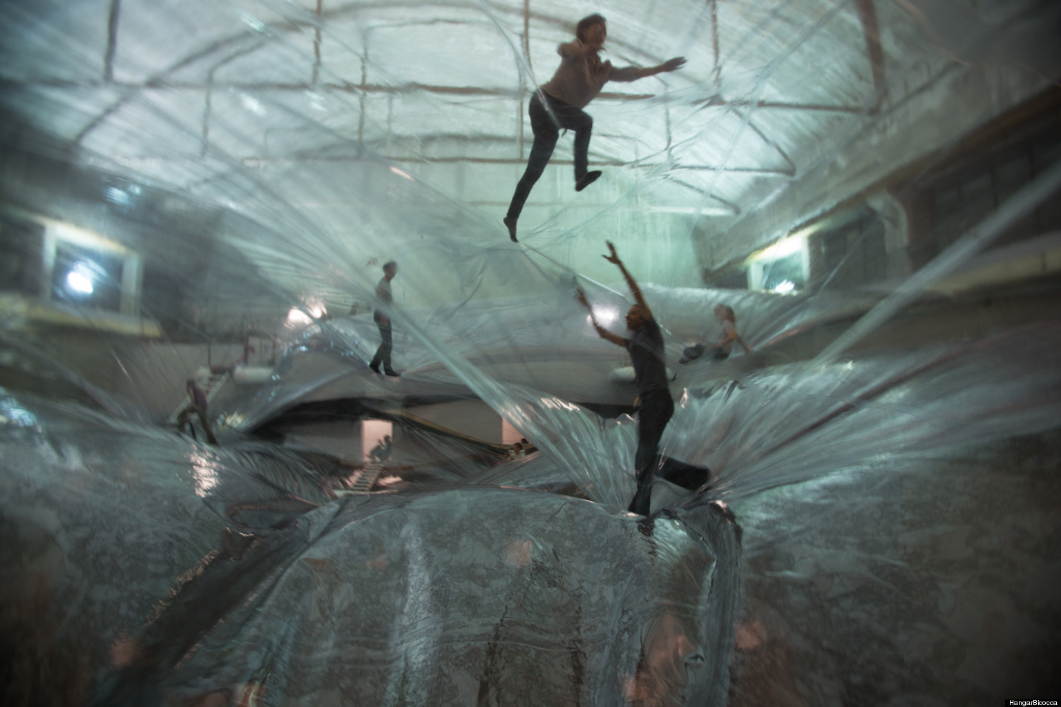 Tom 225 S Saraceno S Adult Playground On Space Time Foam Is