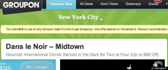 GROUPON HURRICANE SANDY MARKETING FAIL