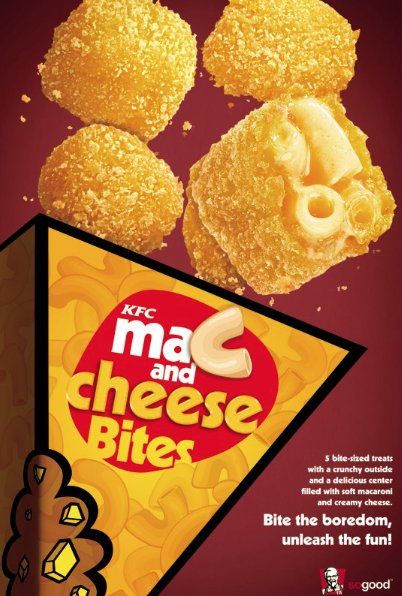 kfc mac and cheese bites