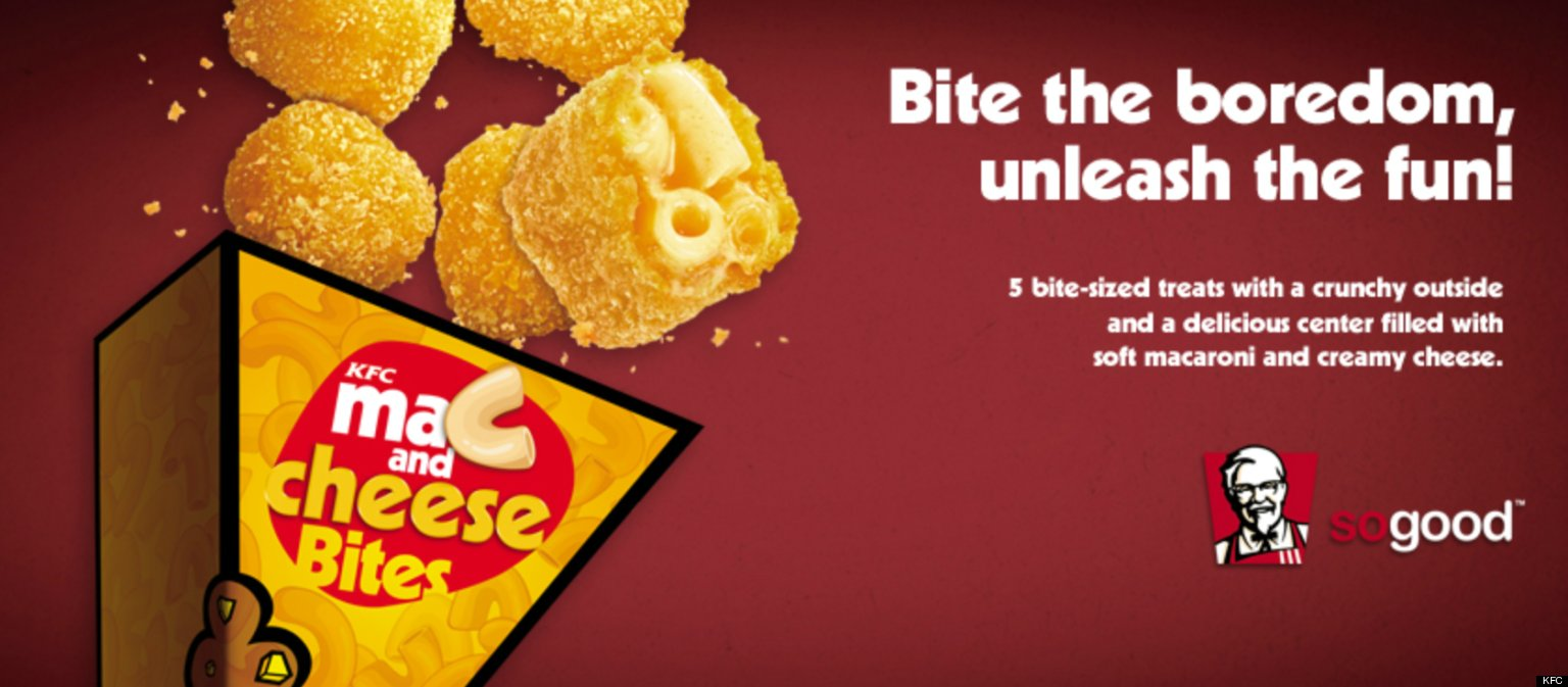 KFC Philippines Unveils Mac & Cheese Bites