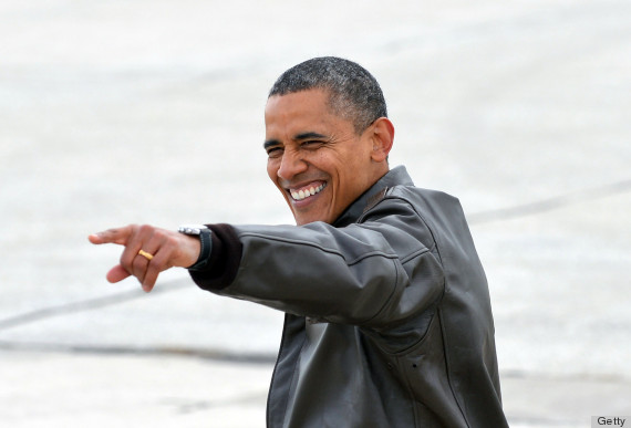 obama leather bomber jacket