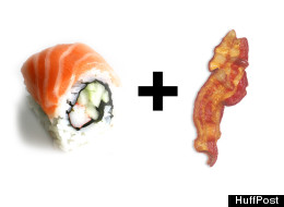 Bacon-Wrapped Sushi: Is It Too Much?