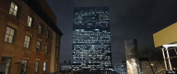 UNITED NATIONS BUILDING SANDY