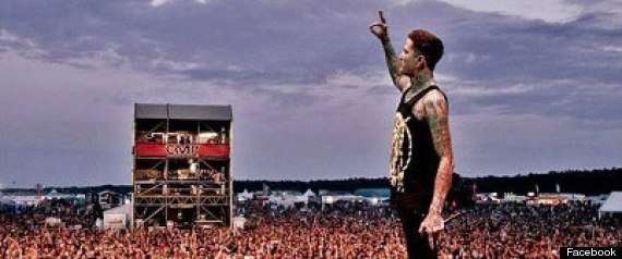Mitch Lucker Dead: Suicide Silence Frontman Killed In Motorcycle Crash