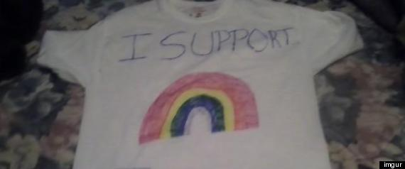 CELINA HIGH SCHOOL RAINBOW SHIRT