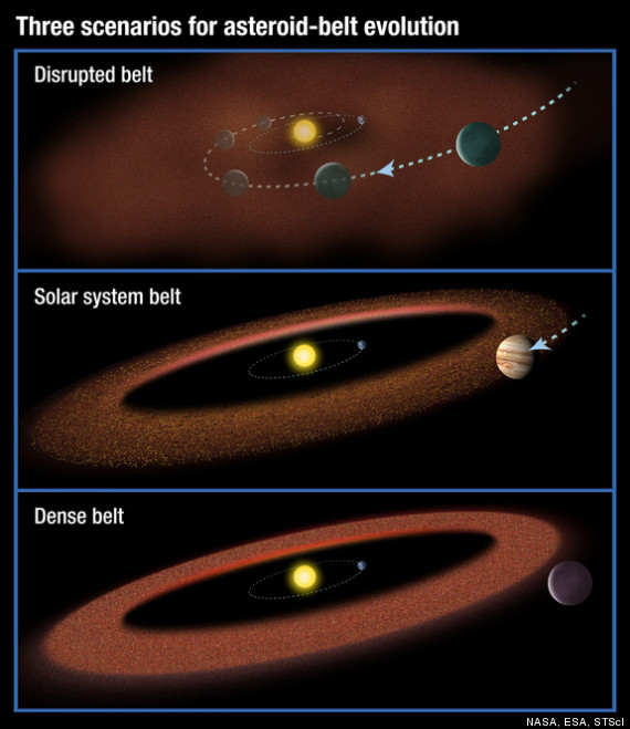 aliens asteroids
