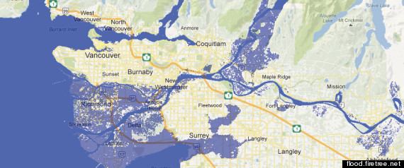 VANCOUVER SEA LEVEL