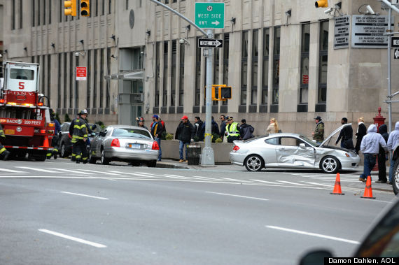 car accident lower manhattan