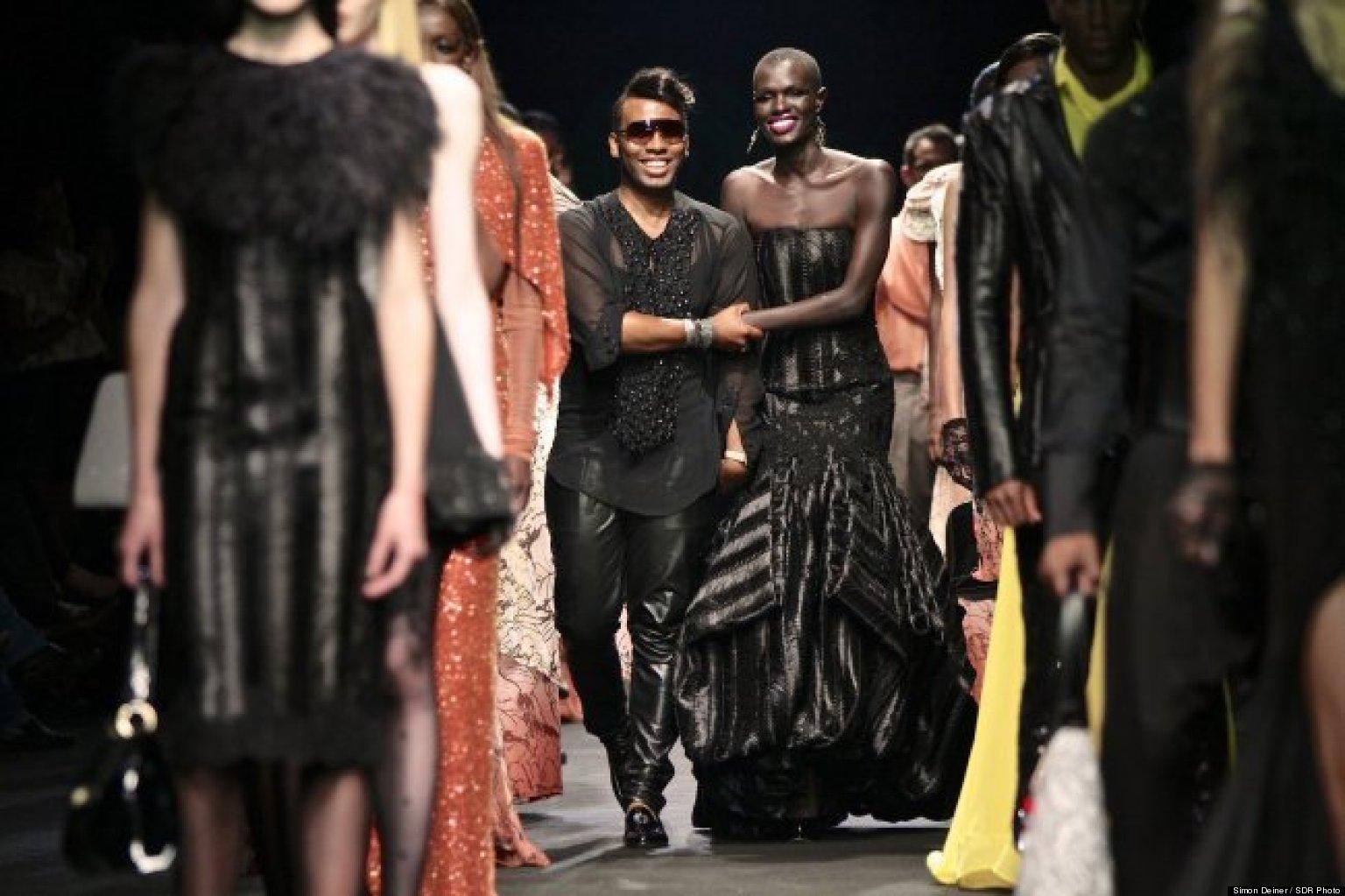 David tlale clothing designer talks african fashion and for Designer david