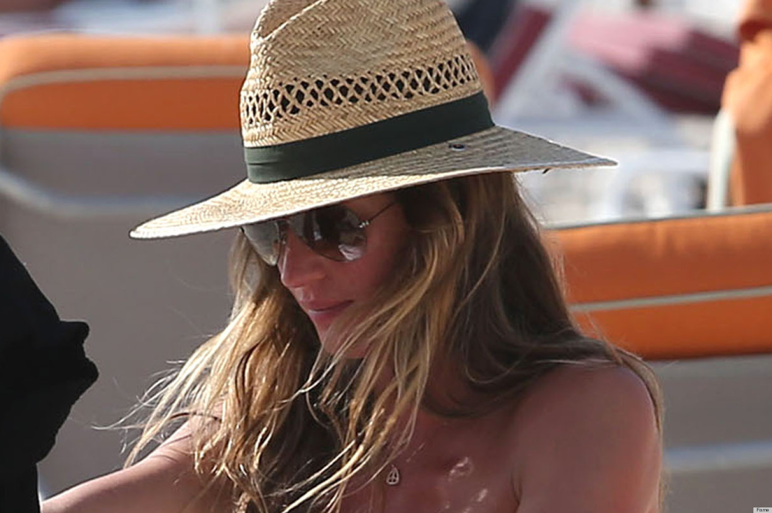 Gisele Bundchen Bikini Pictures: The Model's Baby Bump ... Gisele Bundchen Facebook