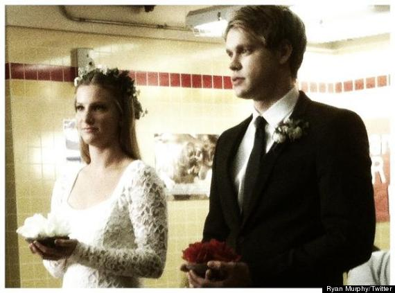 glee wedding