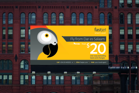 fastjet billboard