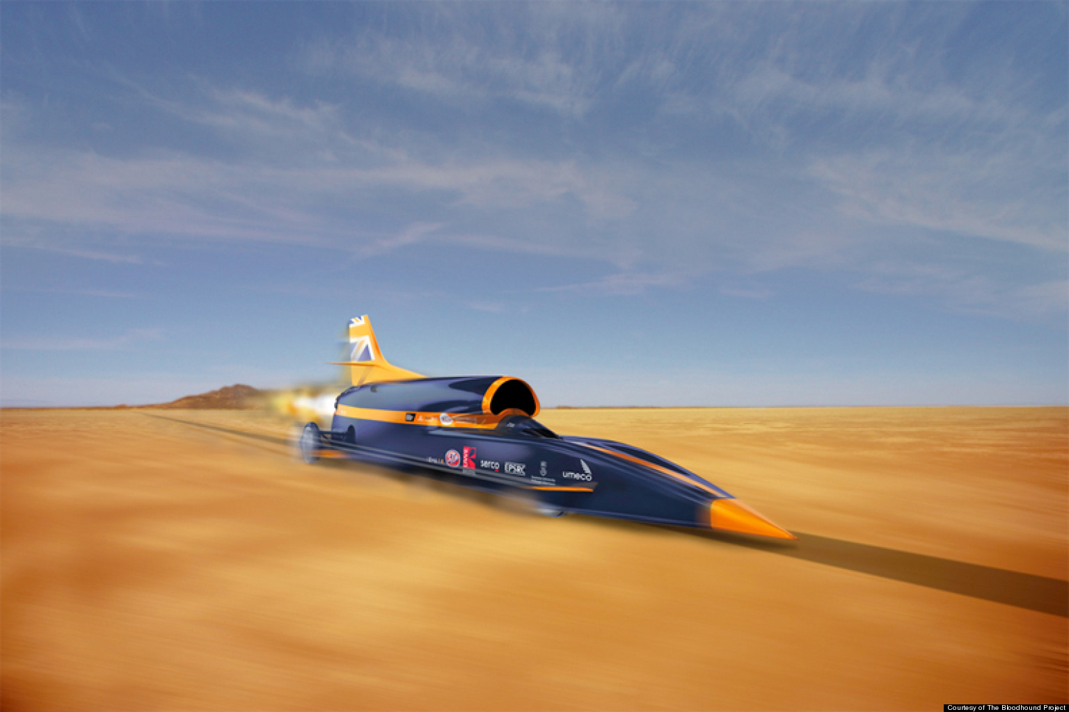bloodhound project land speed record competitors vie for fastest car huffpost. Black Bedroom Furniture Sets. Home Design Ideas
